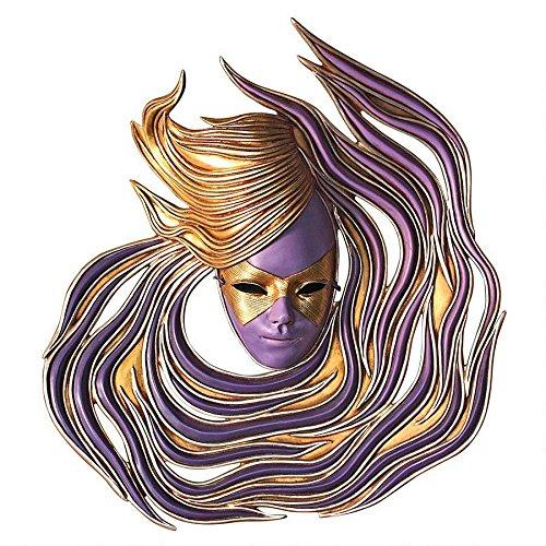 Design Toscano Ivrea Carnival Wall Mask Sculpture NE867042