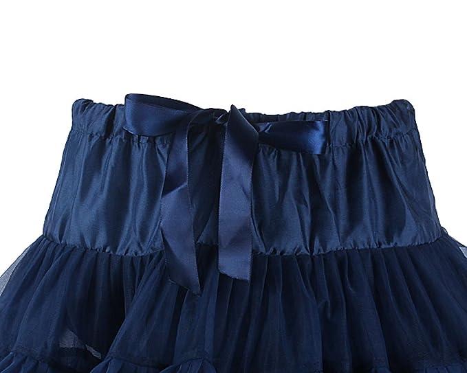 14c9af614e97 niceeshop(TM) Girl s Ballet Dress-Up Fairy Tutu Skirt (Navy Blue