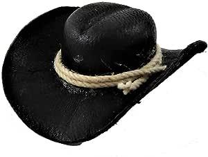 dollhouse miniatures 1:12 artist offerings Brown Cowboy Hat