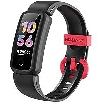 BIGGERFIVE Vigor Fitness Tracker Watch for Kids Girls Boys Ages 5-15, Activity Tracker, Pedometer, Heart Rate Sleep…