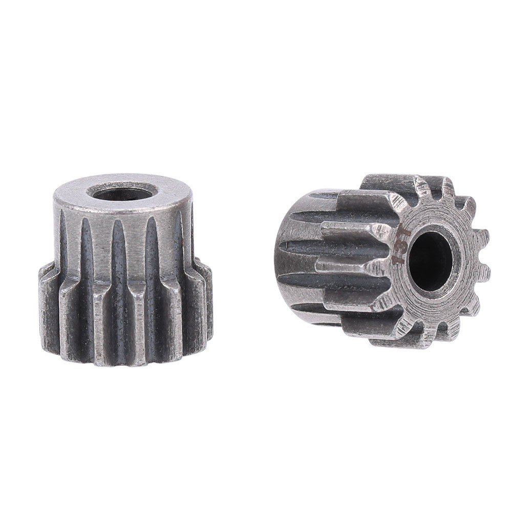 SODIAL(R) 2pcs M1 5.0mm 13T Pinion Motor Gear for 1/8 RC cars Brushed Brushless Motor 124124A3