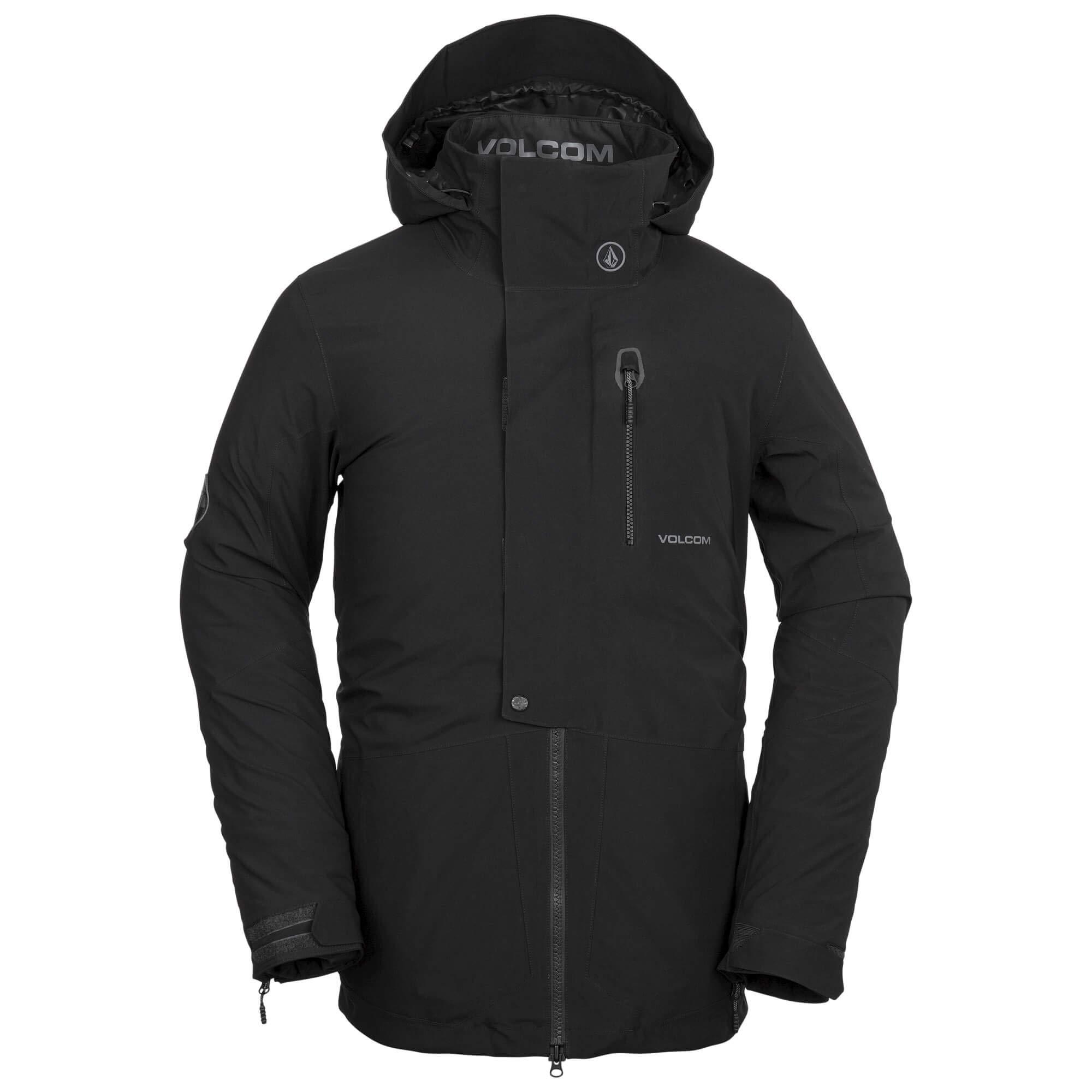 Volcom Men's BL Gore-Tex 2 Layer Stretch Snow Jacket, Black Small