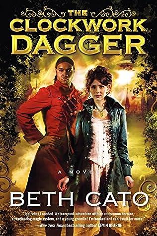 book cover of The Clockwork Dagger