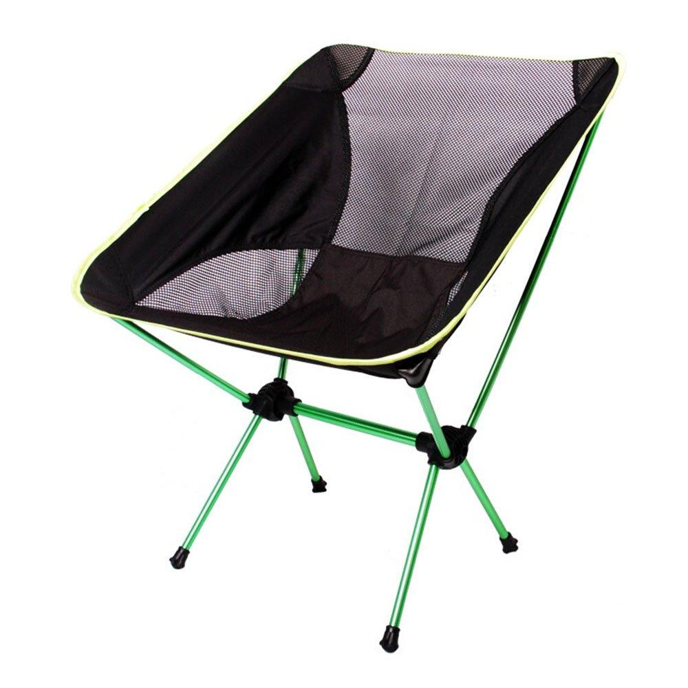 最新コレックション ベンチ 緑 屋外キャンプ折りたたみ椅子ポータブル背もたれ超軽いレジャーチェア耐荷重120KG (A++) (色 (色 B07DLWXGB3 : 緑) 緑 B07DLWXGB3, ブライダルインナー リュクシー:510498f6 --- cliente.opweb0005.servidorwebfacil.com