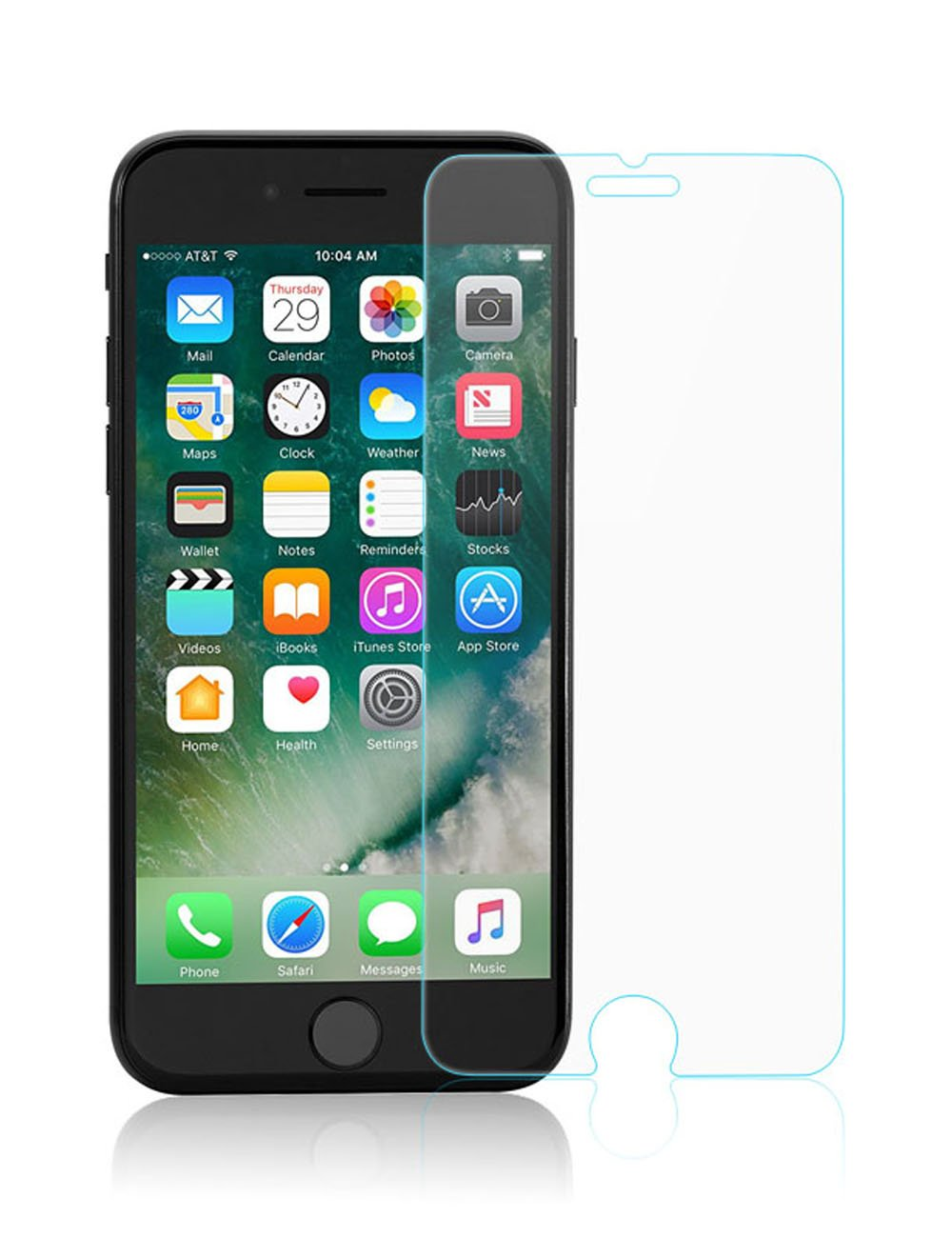 lovely iPhone 7 Plus,8 Plus Tempered Glass Screen Protector,CASPTM Transparent 9H Hardness Film for iPhone 7 Plus,iPhone 8 Plus[5.5''inch]
