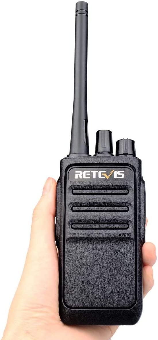 USB Charging Two Way Radio Adults Long Distance Set Retevis RT17 Walkie Talkies Long Range Rechargeable 2 Way Radio Handsfree 4 Pack