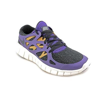 newest 34e59 ad3c1 Amazon.com   Nike Women s WMNS FREE RUN 2 EXT, BLACK BLACK-COURT  PURPLE-BAMBOO, 6.5 M US   Fashion Sneakers