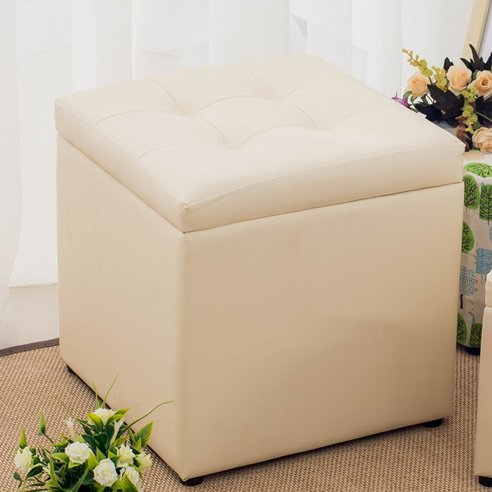 Storage Cube Footrest Stool Coffee Table Puppy Step,Top Style Greatly Enhances Your Home and Office Decor -Small