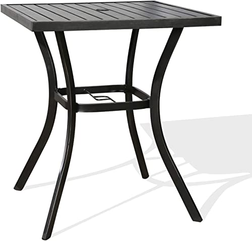 Patio Tree Outdoor Bar Table Patio Bistro Counter Height Table