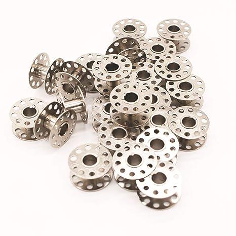 Ogquaton Bobina/bobinas de la máquina de Coser doméstica de Metal para Brother, Toyota