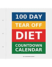 100 Day Tear-Off Diet Countdown Calendar