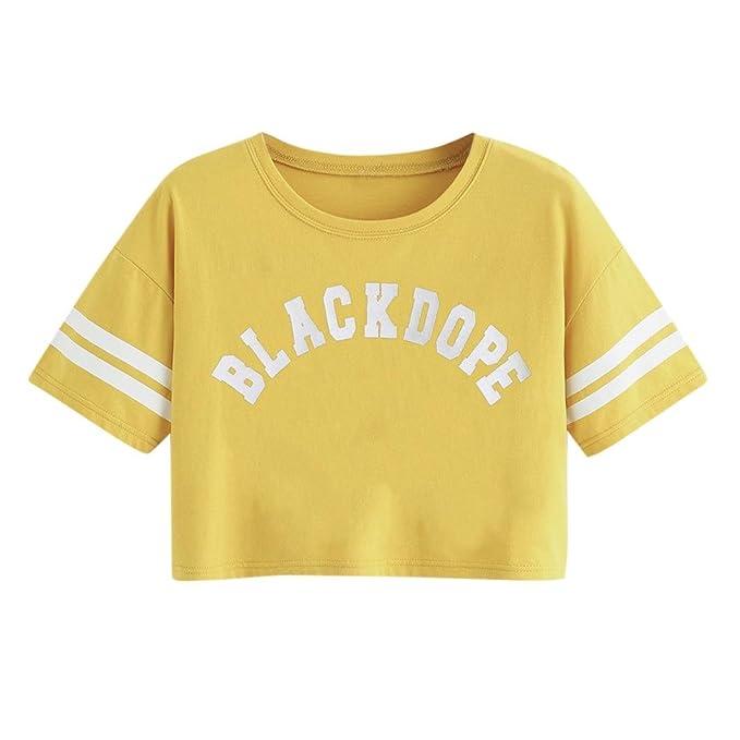 781a8d84b0 ❤ Camiseta Casual para Mujer