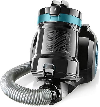 Taurus Exeo Compact Aspirador Trineo Sin Bolsa, Plástico, Negro con azul: Amazon.es: Hogar