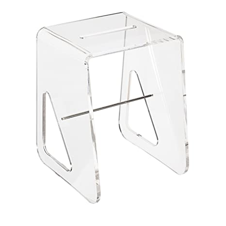 Sgabelli In Plexiglass.Lucesolida Morpheus Sgabello Plexiglass Trasparente E
