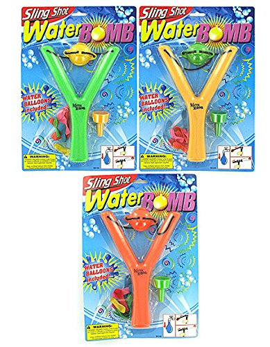 New - Sling shot water bomb - Case of 96 - SK139-96