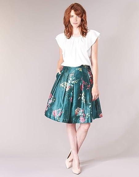 Derhy - Falda - para Mujer, Color, Talla Medium: Amazon.es ...