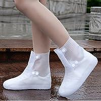أغطية أحذية من السيليكون قابلة لإعادة الاستخدام غطاء أحذية المطر للرجال والنساء في الهواء الطلق ركوب الدراجات والمشي…