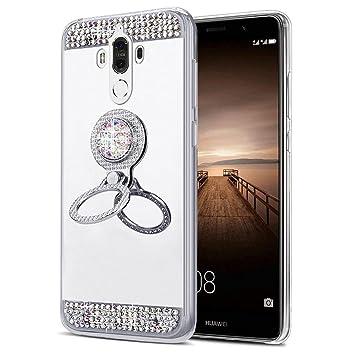 EINFFHO - Carcasa Huawei Mate 9, [con pedrería Soporte ...
