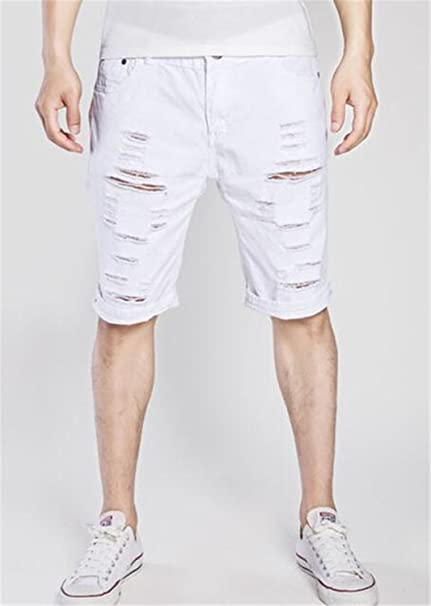 08943f59136 Image Unavailable. Image not available for. Color  Gomis Denim Shorts Men  New Summer Casual ...