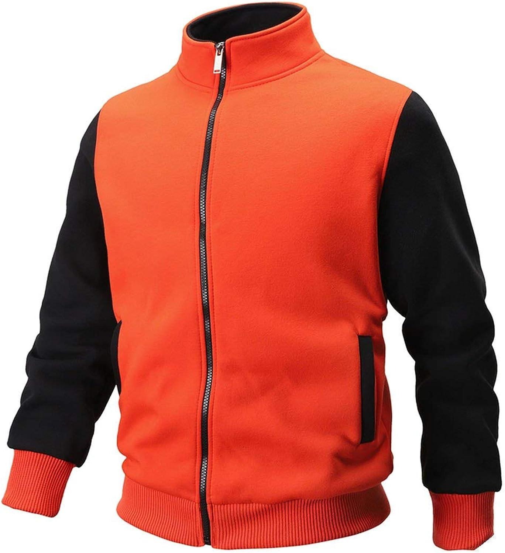 L/&Heart Brand Autumn Winter Cotton Thick Fleece Coats Men Hoodise and Sweatshirts Man Casual Hoodies Zip Jacket