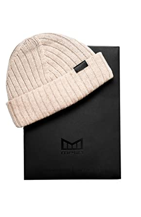 dcc5cbc6f0e34f melin Men's All Day Cashmere Beanie One Size Heather Grey at Amazon Men's  Clothing store: