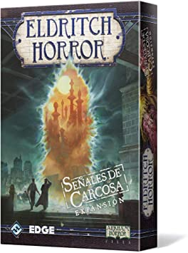 Edge Entertainment - Señales de Carcosa: Eldritch Horror, Juego de Mesa (EDGEH06): Amazon.es: Juguetes y juegos