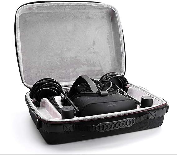 Touch Virtual Reality System Accesorios Bolsa de Transporte Caja de Almacenamiento Protectora Funda de Viaje r/ígida EVA para Oculus Rift