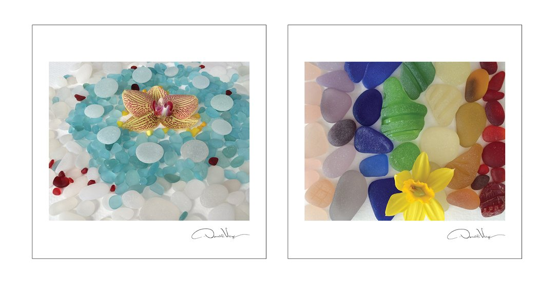 2015 SEA GLASS Fine Art Nature Wall Calendar 12X12 - A Unique Great Birthday, Anniversary, Valentines Day, Mothers Day, Wedding & Best Christmas Gift by Donald Verger Photography (Image #5)