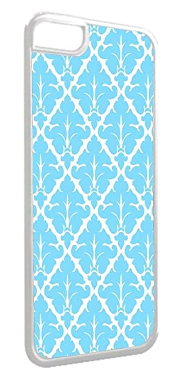 online store 81b1d b3dbd Amazon.com: Light Blue Damask Design TM Apple Iphone 4, 4s ...