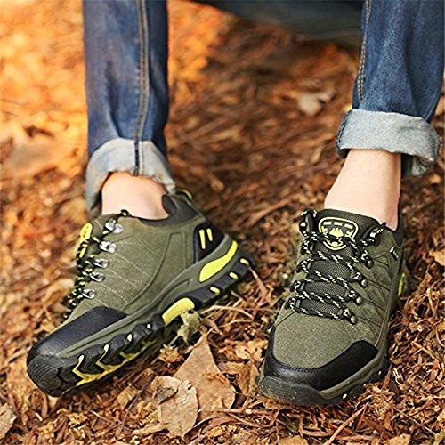 Chaussures 1 Hommes 36 Les Promenades Et Outdoor Noir 48 Neoker Verte Bleu Pour Basses Vert Trekking De Sneakers Randonnée dqSXUF