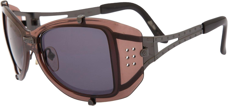 Jean Paul Gaultier - Gafas de sol - para hombre Farbe Gläser Schwarz; Bügel Dunkelbraun-Schwarz: Amazon.es: Ropa y accesorios