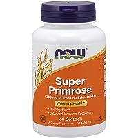Now Foods Super Primrose 1300mg, 60 Gels