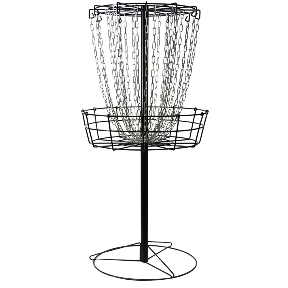 MVP Black Hole Practice 24-Chain Portable Disc Golf Basket Target by MVP Disc Sports