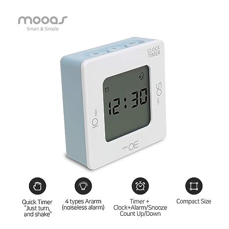 Amazon.com: Mooas - Temporizador de estudio con 4 tipos de ...