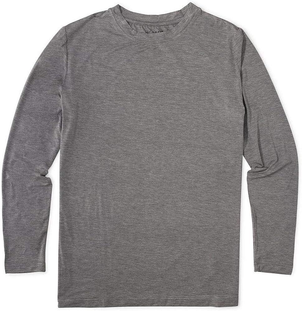 Glade - Camisa de Manga Larga para Hombre, para Senderismo, Camping, Ciclismo, Crossfit, Lago, Aventura, Pesca con Mosca y Vela - Gris - X-Large: Amazon.es: Ropa y accesorios