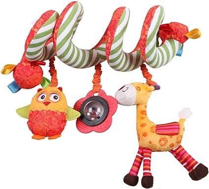 Aofocy Clip Premium sur poussette b/éb/é poussette jouets musicaux poussette berceau pendaison jouets de dentition ours