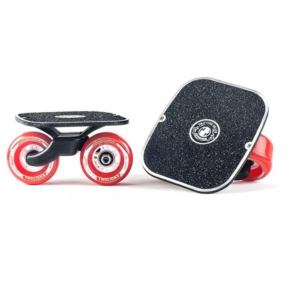買得 ドリフトボードフライラインスケートフラッシュ大人の子供四輪スプリットスケートボード輸送されたロードスクラブ B07FLXKJGP Red Red Red Red, BLACK STORE:0d2650e8 --- a0267596.xsph.ru