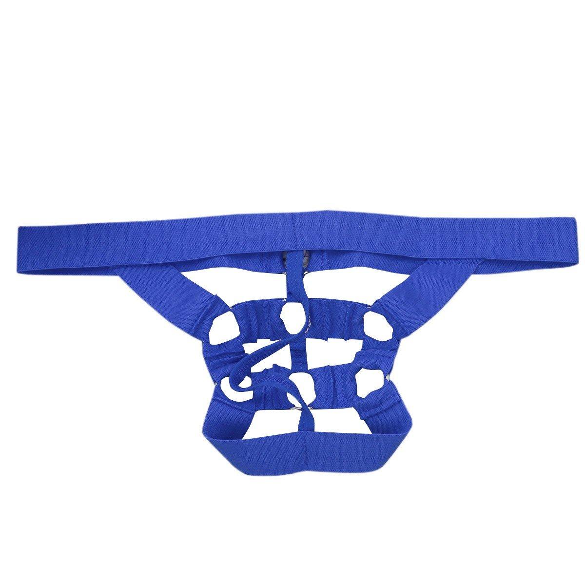 YIZYIF Tanga Hombre Slip Ropa Interior Masculino Slips Para Hombres Ropa De Dormir Azul Talla Única: Amazon.es: Ropa y accesorios