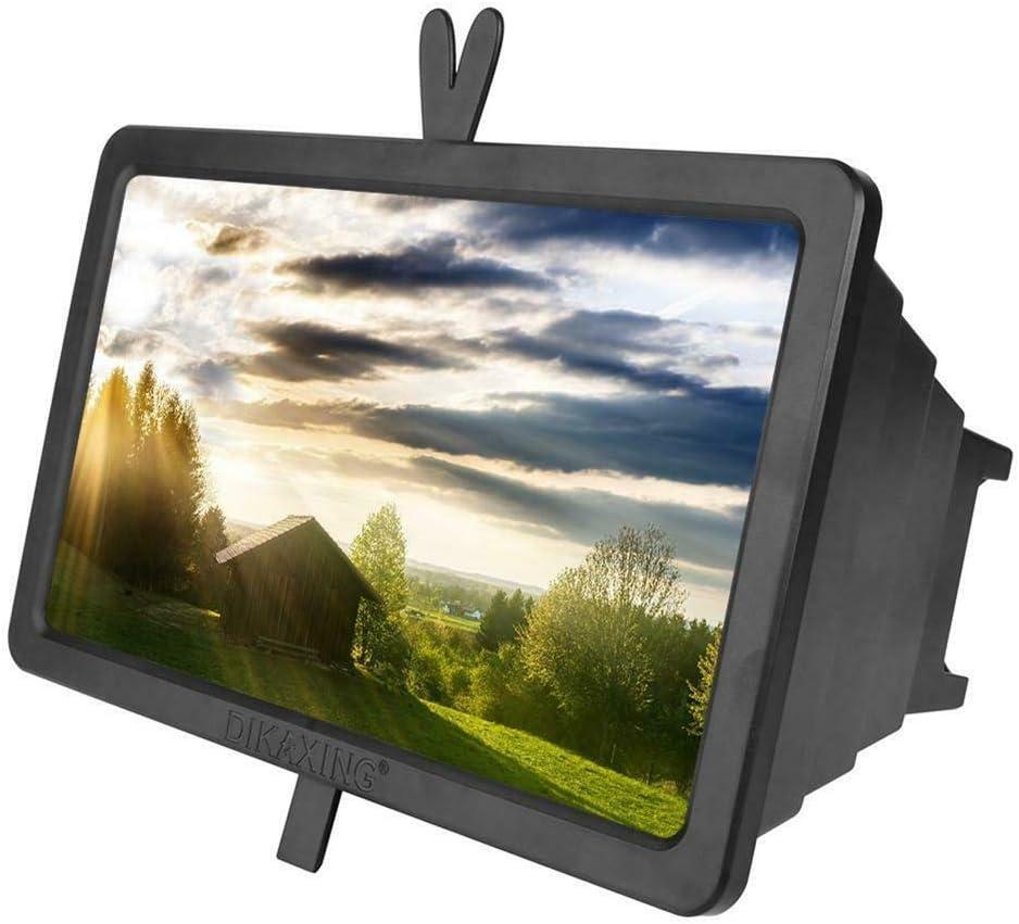 zhaoqing90 Soporte retráctil de 14 Pulgadas para Pantalla de teléfono móvil con Lupa 3D HD Amplificador de Video: Amazon.es: Electrónica