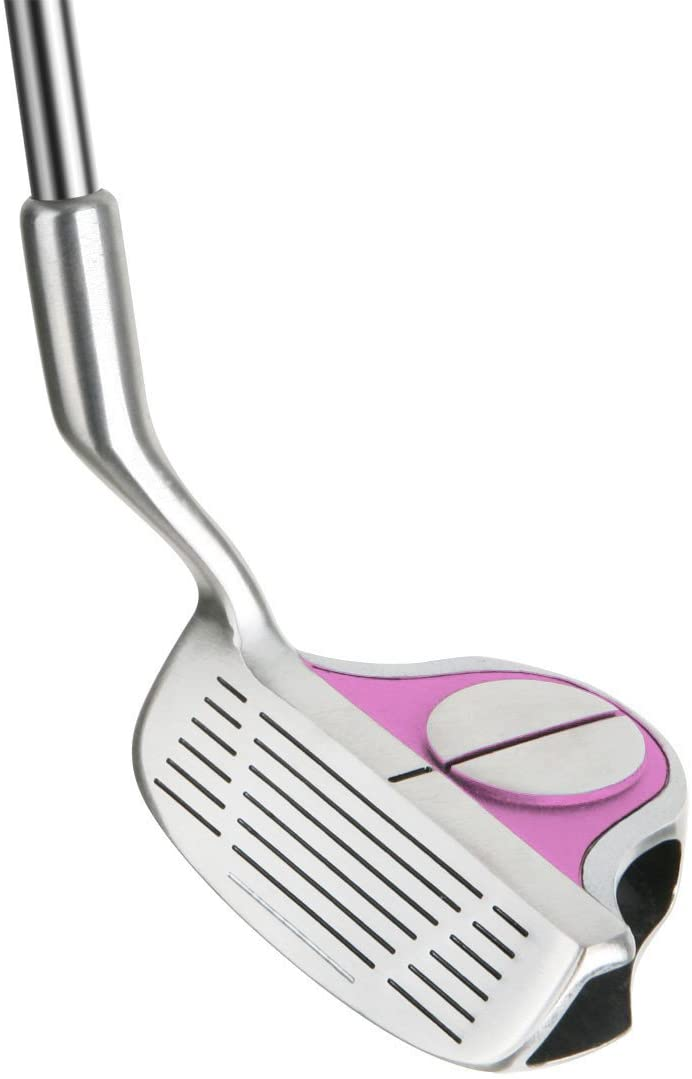 Left Handed Intech EZ Roll Senior Ladies Pink Golf Chipper – 33 Inches