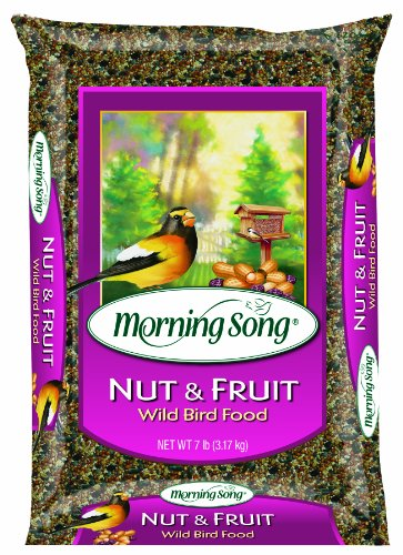 Morning Song Nut and Fruit Blend Wild Bird Food, 15-Pound, My Pet Supplies