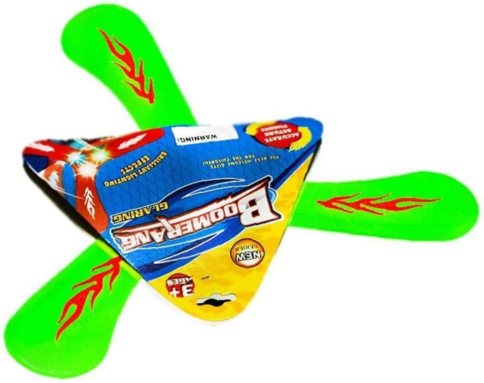 5pcs Kinderspielzeug Lumineszente Triangular Boomerang Kindertages Fliegen Geschenk Outdoor Sports Spielzeug DREI Blatt Flying Saucer