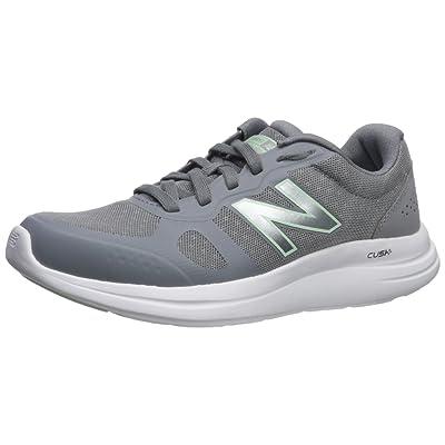New Balance Women's Versi v1 Cushioning Running Shoe, Steel, 7.5 D US | Road Running