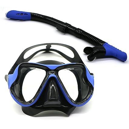 25e1ed5e687 Amazon.com   Instago Snorkel Dive Mask with Silicone Strap for Men ...