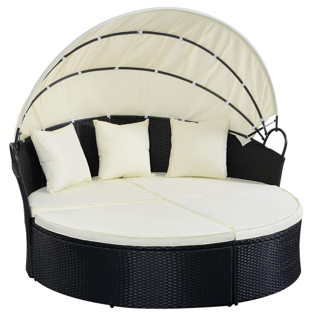Patio Furniture Round Bed
