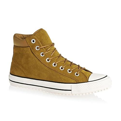 c4eeb93f818f Converse Unisex Chuck Taylor All Star Boot Pc Hi Antiqued Egret Black  Casual Shoe