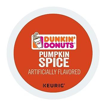 7cb2ec9b43d28 Dunkin' Donuts Pumpkin Spice Coffee Keurig K-cup pods (48 Count)