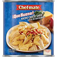 Chef-mate Que Bueno Sauce, Nacho Cheese, 6-Pounds 10-Ounce