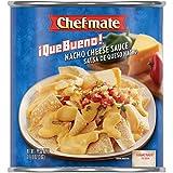Chef-mate Que Bueno Nacho Cheese Sauce and Queso, 6 lb 10 oz (#10 Can Bulk)