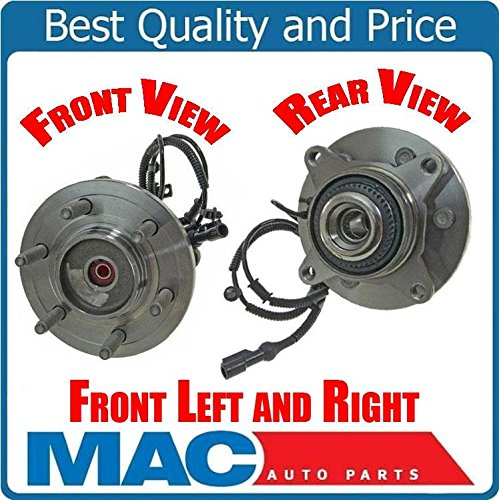 (2) Front Wheel Bearing and Hub Assembly 4WD 4X4 6 STUDS ONLY! 09-10 F150 4x4